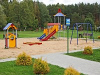 health resort Priozerny - Playground for children