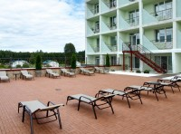health resort Priozerny - Summer terrace