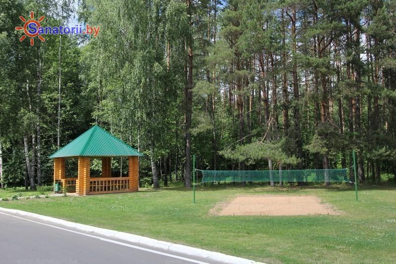 Санатории Белоруссии Беларуси - санаторий Приозерный - Спортплощадка