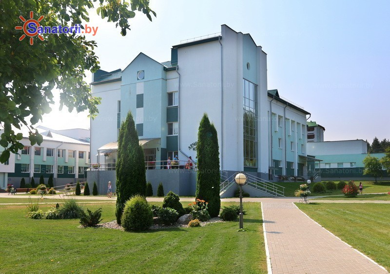 Санатории Белоруссии Беларуси - санаторий Приозерный - лечебный корпус