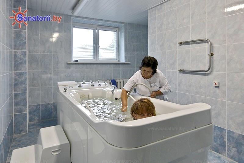Санатории Белоруссии Беларуси - санаторий Приозерный - Душ-массаж подводный