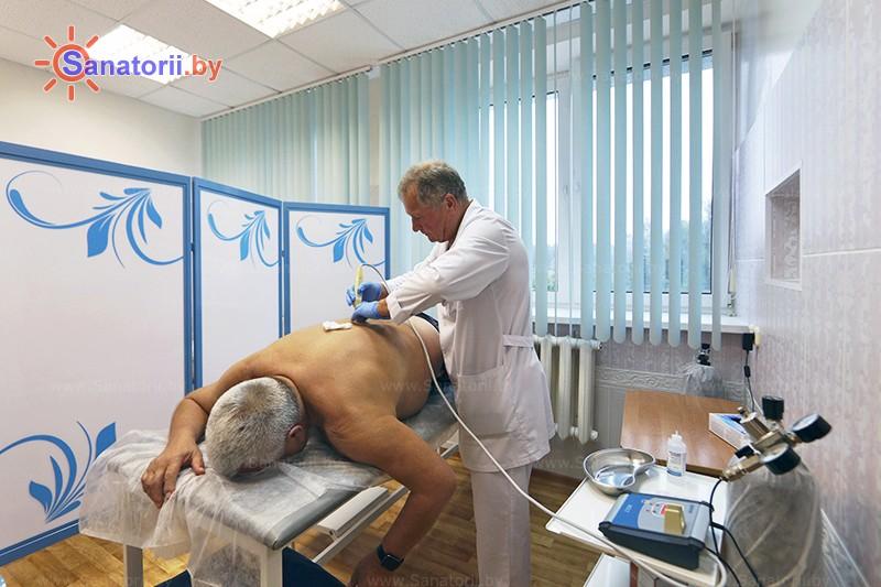 Санатории Белоруссии Беларуси - санаторий Приозерный - Карбокситерапия (газовые уколы)