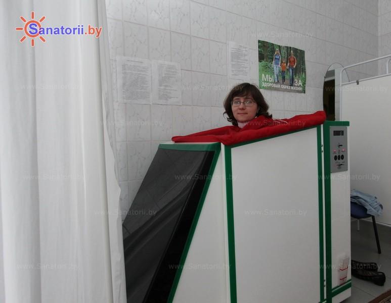 Санатории Белоруссии Беларуси - санаторий Чаборок - Ванна сухая углекислая