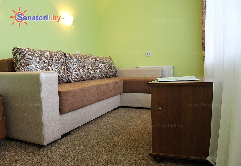 Санатории Белоруссии Беларуси - санаторий Чаборок - двухместный двухкомнатный luxe (спальные корпуса № 3, 4)
