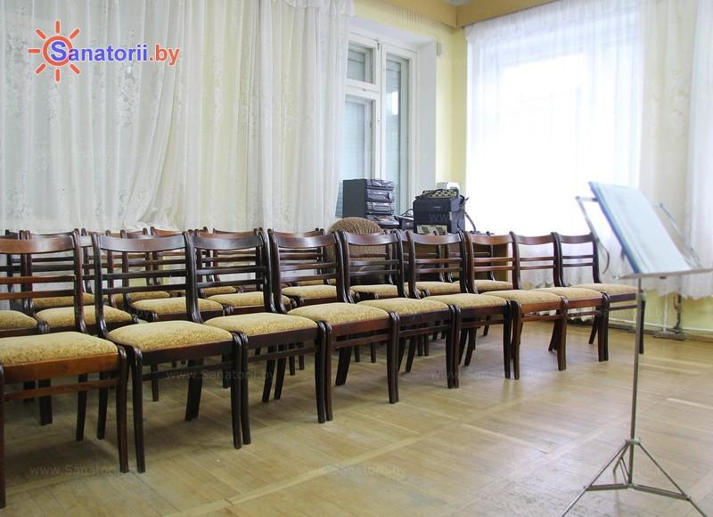 Санатории Белоруссии Беларуси - санаторий Чаборок - Кинозал