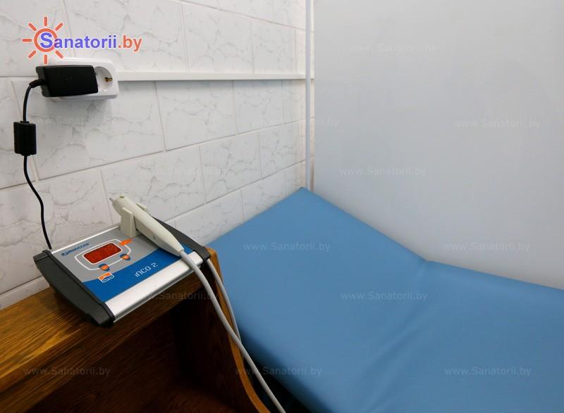 Санатории Белоруссии Беларуси - санаторий Чаборок - Карбокситерапия (газовые уколы)
