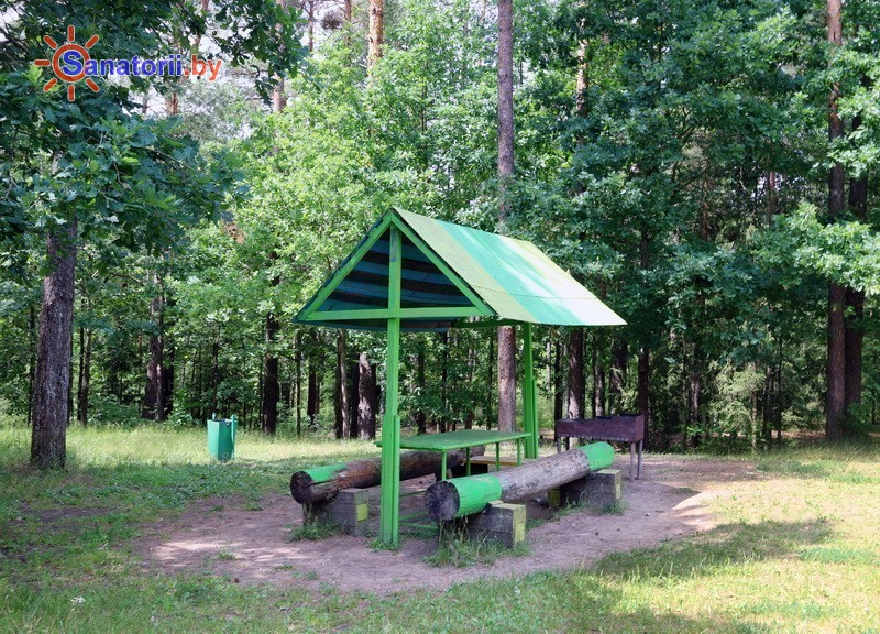 Санатории Белоруссии Беларуси - санаторий Чаборок - Площадка для шашлыков
