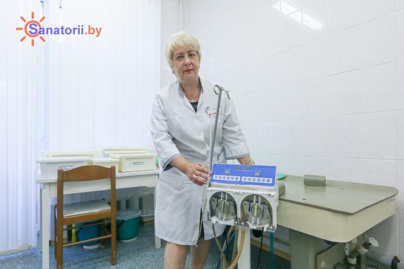 Санатории Белоруссии Беларуси - санаторий Шинник - Гидротерапия кишечника