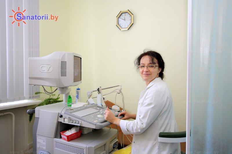 Санатории Белоруссии Беларуси - санаторий Юность - Ультразвуковая диагностика