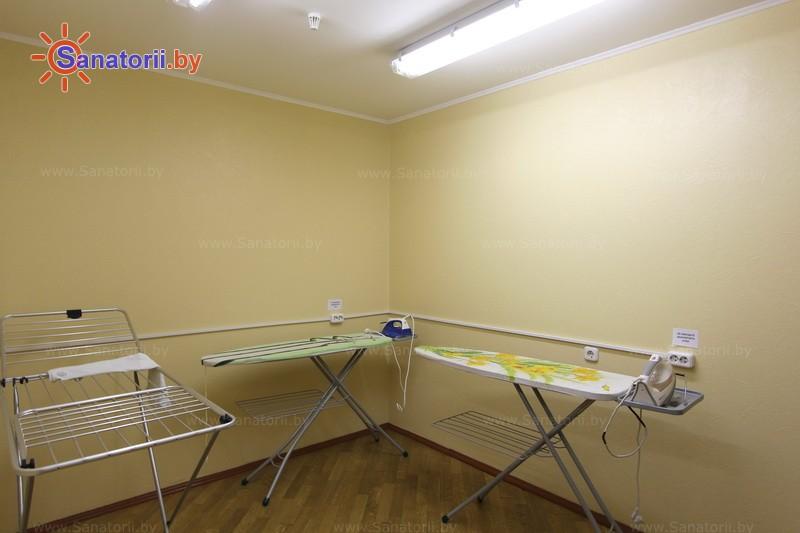 Санатории Белоруссии Беларуси - санаторий Юность - Гладильная комната