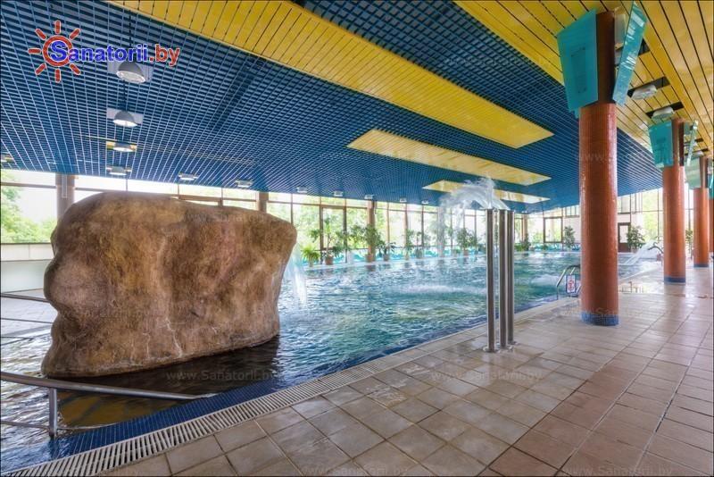 Health resort of Belarus - health resort Yunost - Swimming pool