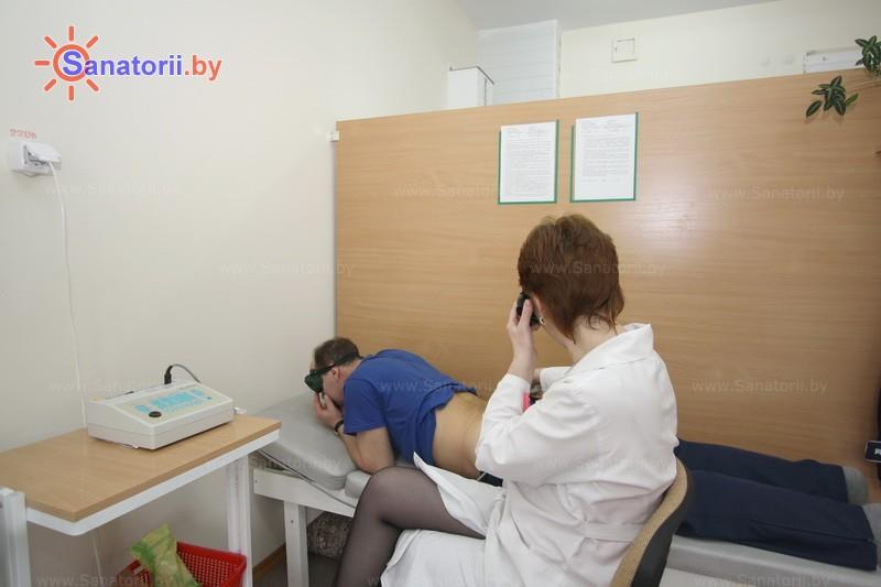 Санатории Белоруссии Беларуси - санаторий Дубровенка - Лазерная терапия