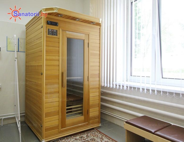 Санатории Белоруссии Беларуси - санаторий Дубровенка - Сауна инфракрасная