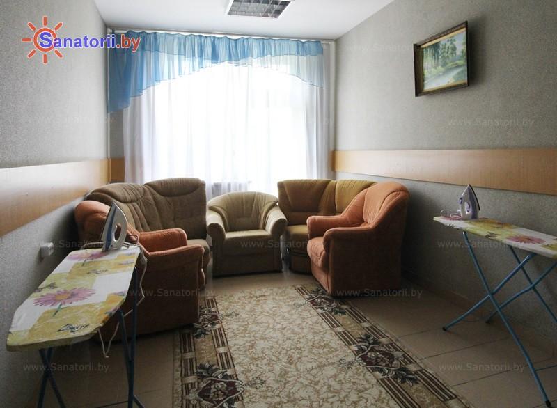 Санатории Белоруссии Беларуси - санаторий Дубровенка - Гладильная комната