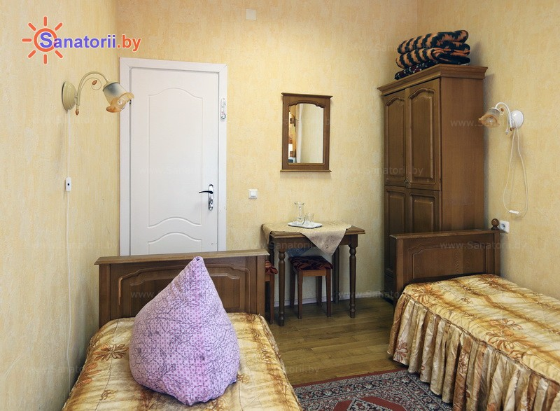 Санатории Белоруссии Беларуси - санаторий Дубровенка - двухместный в блоке (жилищно-медицинский корпус)