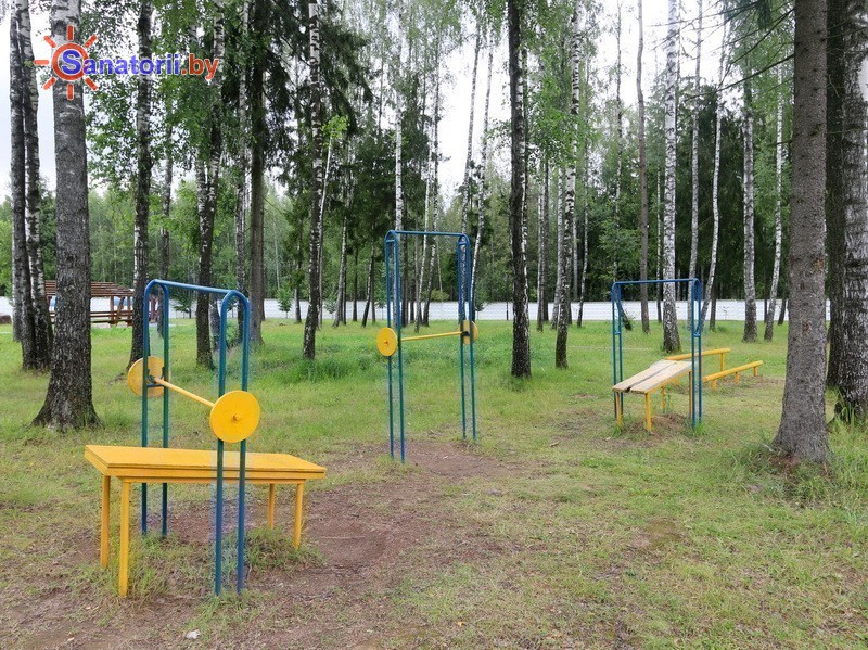 Санатории Белоруссии Беларуси - санаторий Дубровенка - Спортплощадка