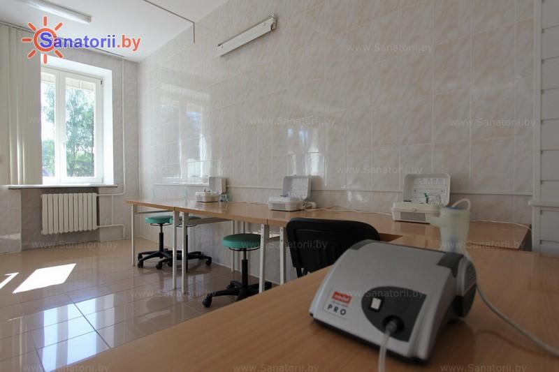 Санатории Белоруссии Беларуси - санаторий Дубровенка - Ингаляции (аэрозольтерапия)