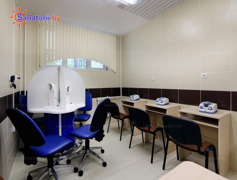 Санатории Белоруссии Беларуси - санаторий Железнодорожник - Ингаляции (аэрозольтерапия)