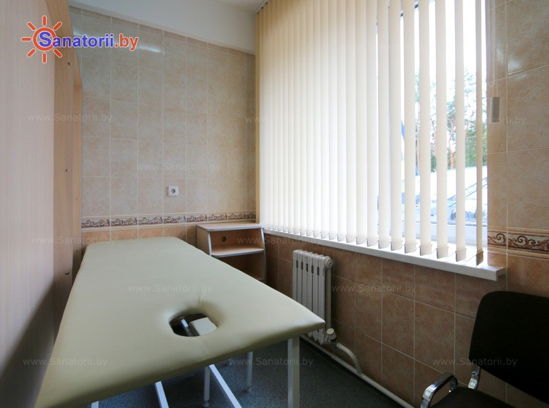 Санатории Белоруссии Беларуси - санаторий Железнодорожник - Массаж ручной