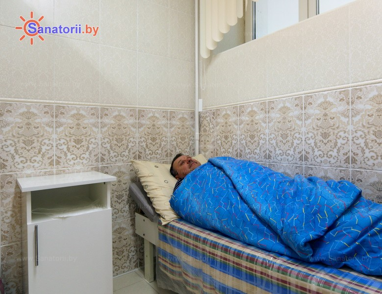 Санатории Белоруссии Беларуси - санаторий Железнодорожник - Грязелечение (пелоидотерапия)