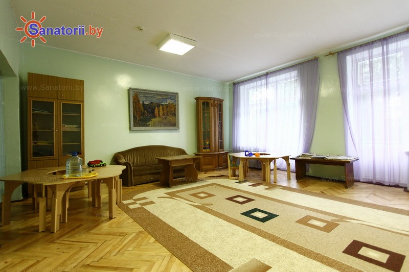 Санатории Белоруссии Беларуси - санаторий Свитанок - Детская комната