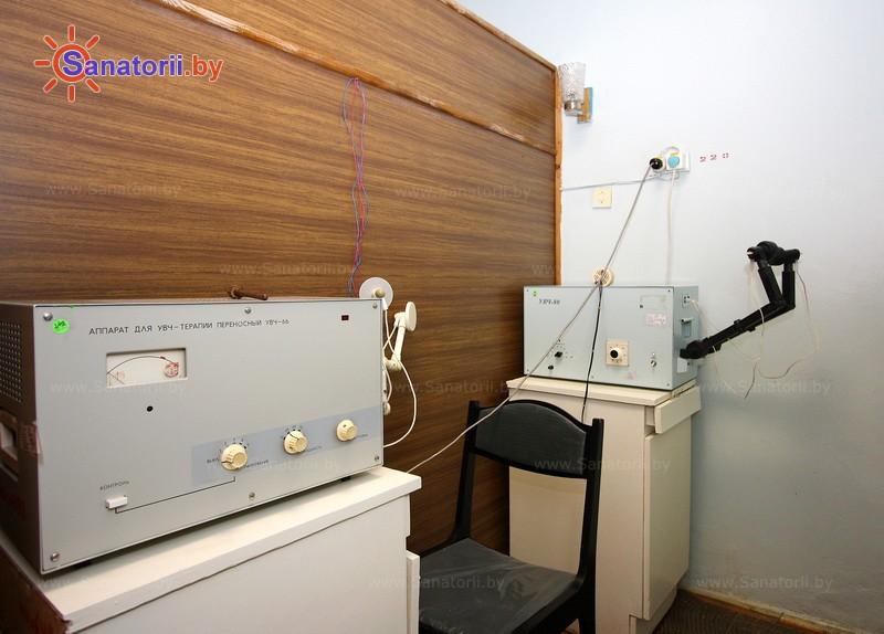 Санатории Белоруссии Беларуси - санаторий Свитанок - Увч-терапия