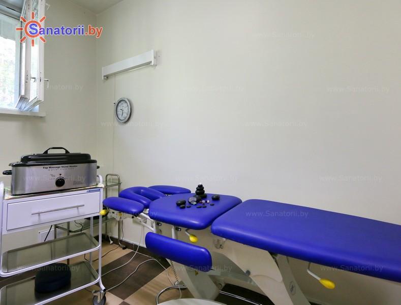 Санатории Белоруссии Беларуси - санаторий Свитанок - Стоунтерапия (массаж камнями)