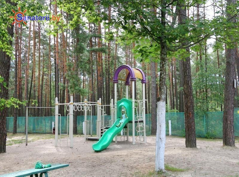 Санатории Белоруссии Беларуси - санаторий Свитанок - Детская площадка