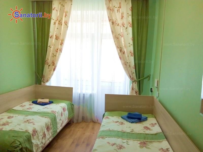 Санатории Белоруссии Беларуси - санаторий Свитанок - двухместный однокомнатный (основной корпус)
