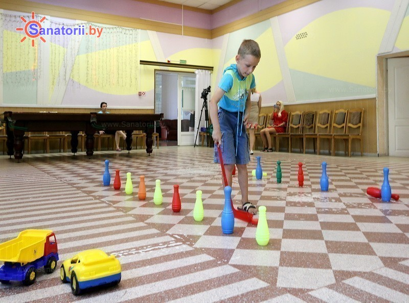 Санатории Белоруссии Беларуси - санаторий Гомельского отд. БЖД - Детская комната