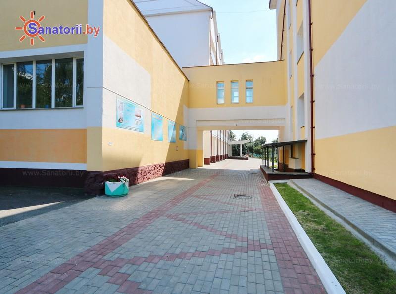 Санатории Белоруссии Беларуси - санаторий Гомельского отд. БЖД - Корпуса