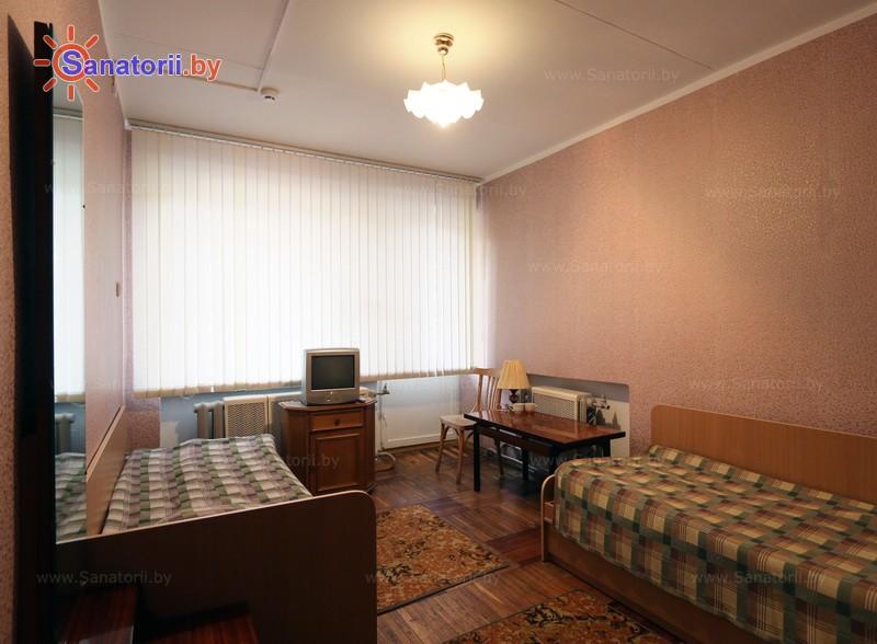 Санатории Белоруссии Беларуси - оздоровительный комплекс БАТЭ - двухместный в блоке (корпус №3)