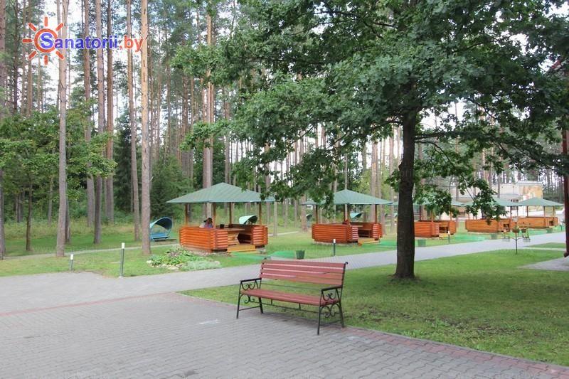 Санатории Белоруссии Беларуси - оздоровительный комплекс БАТЭ - Территория и природа