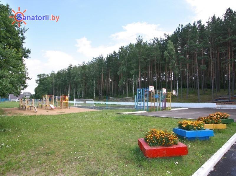 Санатории Белоруссии Беларуси - оздоровительный центр Дудинка - Спортплощадка