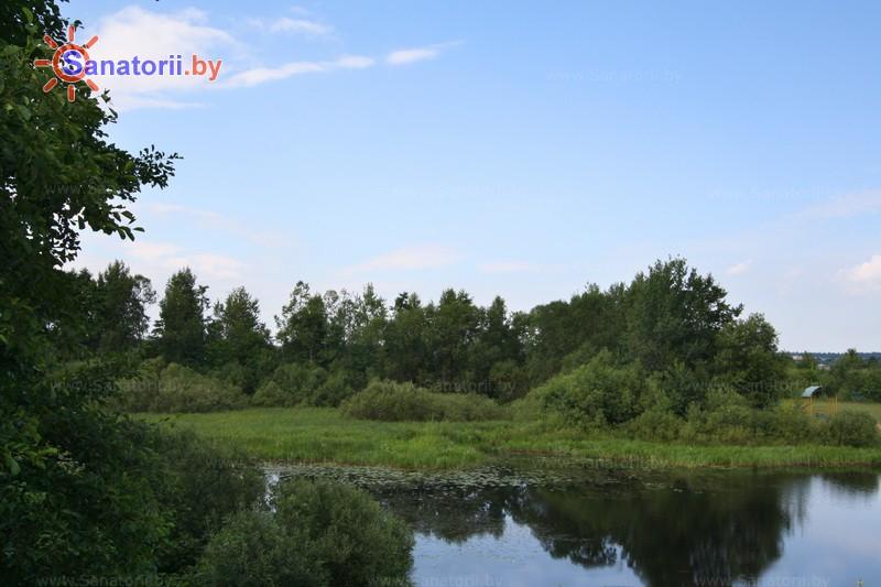 Санатории Белоруссии Беларуси - оздоровительный центр Дудинка - Водоём