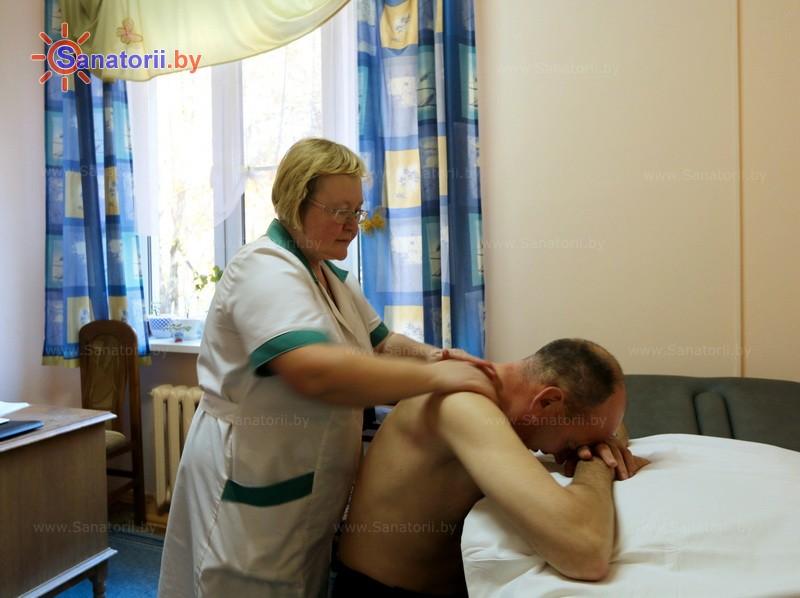 Санатории Белоруссии Беларуси - оздоровительный центр Дудинка - Массаж ручной