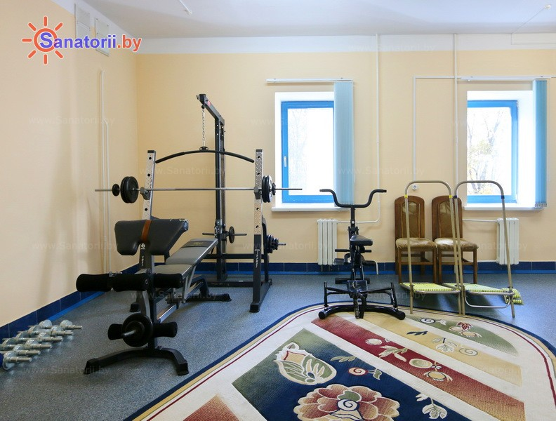 Санатории Белоруссии Беларуси - оздоровительный центр Дудинка - Тренажерный зал (механотерапия)