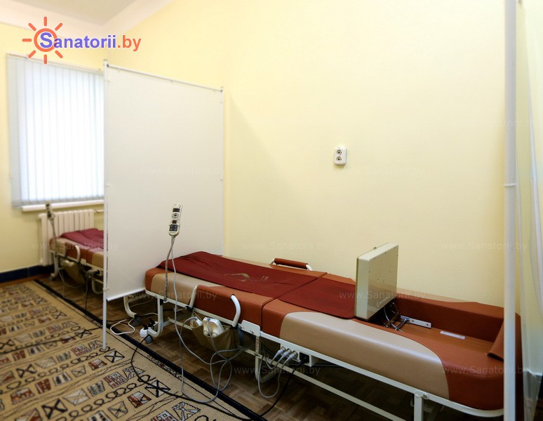 Health resort of Belarus - health-improving center Dudinka - Apparatus massage