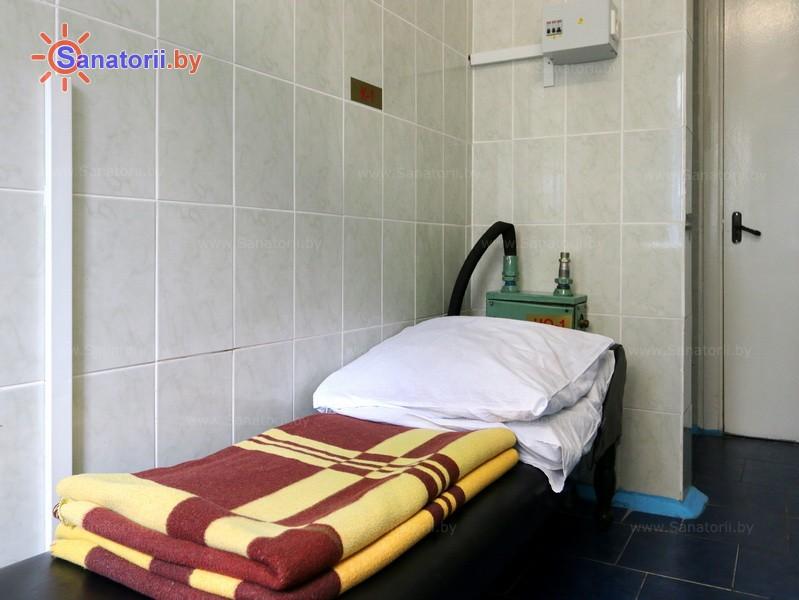 Health resort of Belarus - health-improving center Dudinka - Paraffin ozokerite therapy
