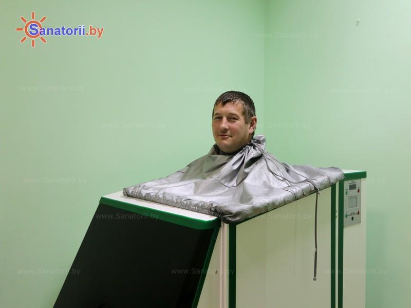Санаторыі Беларусі - аздараўленчы цэнтр Дудзінка - Ванна сухая вуглякіслая