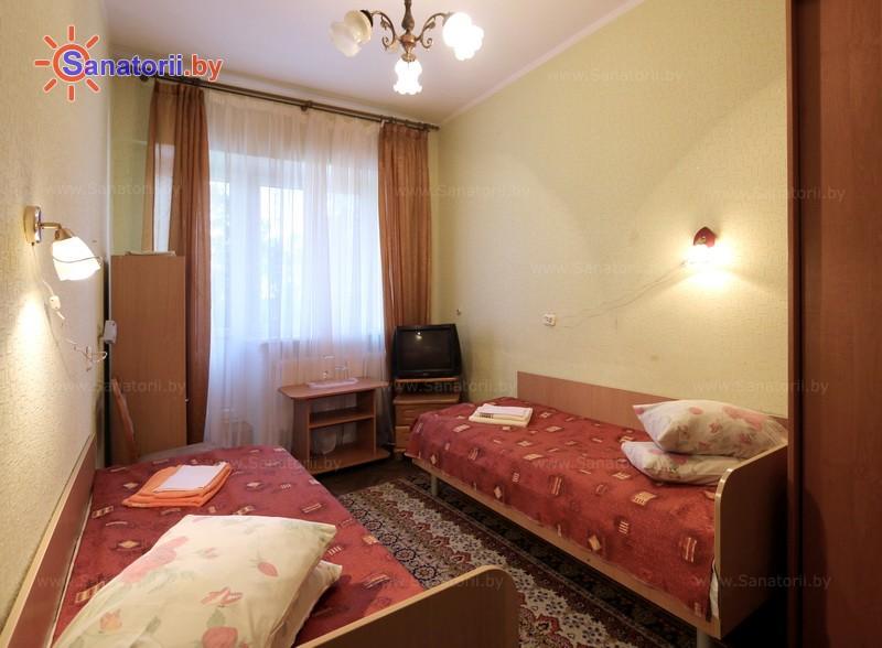 Санатории Белоруссии Беларуси - оздоровительный центр Дудинка - двухместный однокомнатный (главный корпус)