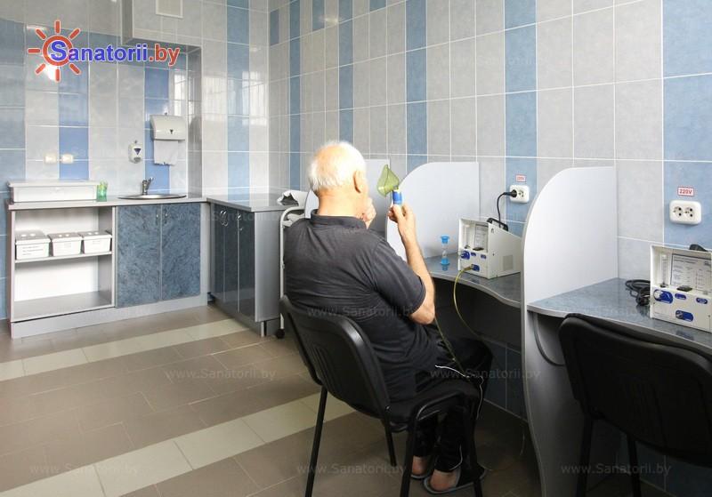 Санатории Белоруссии Беларуси - санаторий Им. К.П. Орловского - Ингаляции (аэрозольтерапия)