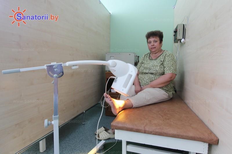 Санатории Белоруссии Беларуси - санаторий Им. К.П. Орловского - Светолечение