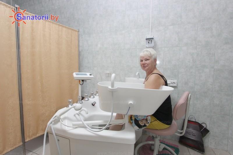 Санатории Белоруссии Беларуси - санаторий Радуга - Ванны гальванические четырехкамерные