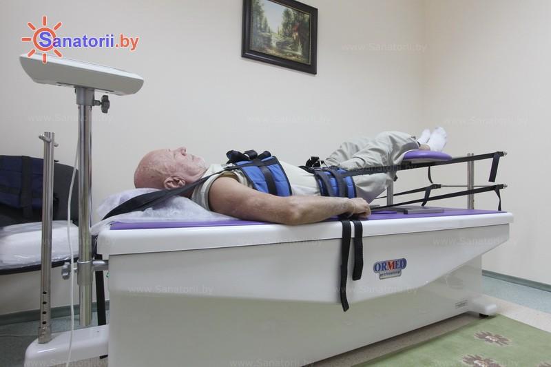 Санатории Белоруссии Беларуси - санаторий Солнечный - Вытяжение позвоночника сухое