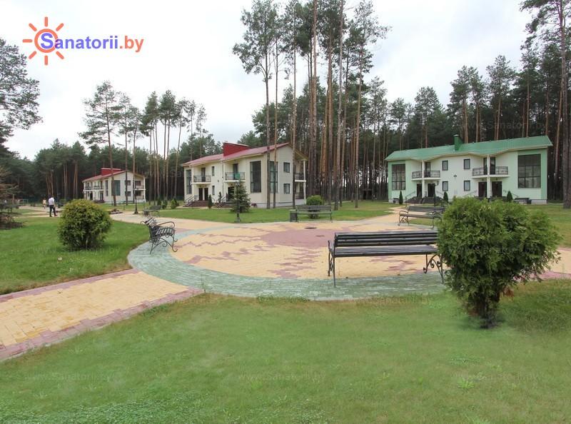 Санатории Белоруссии Беларуси - санаторий Солнечный - Территория и природа