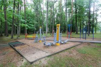 health resort Svitiaz - Outdoor gym