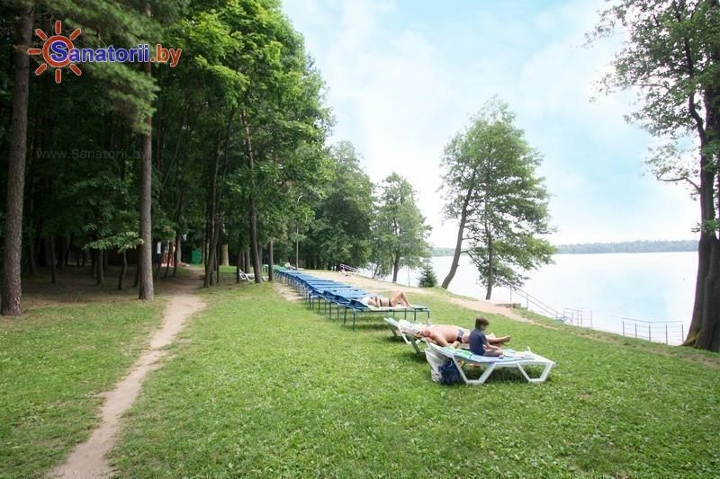 Санатории Белоруссии Беларуси - санаторий Свитязь - Пляж