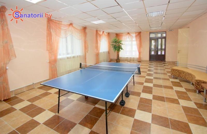 Санатории Белоруссии Беларуси - санаторий Свитязь - Теннис настольный