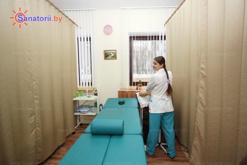 Санатории Белоруссии Беларуси - санаторий Свитязь - Массаж ручной